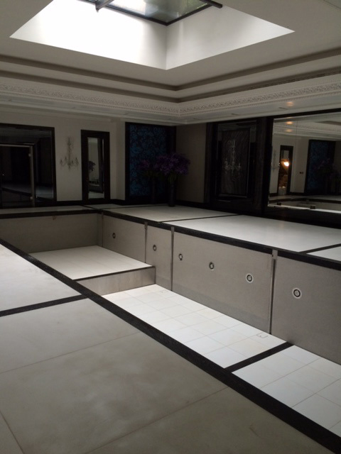 Swimming Pool lifting floor